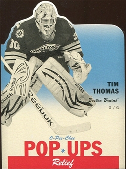 2012/13 Upper Deck O-Pee-Chee Pop Ups #PU4 Tim Thomas