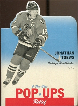 2012/13 Upper Deck O-Pee-Chee Pop Ups #PU8 Jonathan Toews
