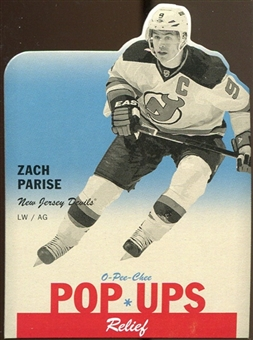 2012/13 Upper Deck O-Pee-Chee Pop Ups #PU32 Zach Parise