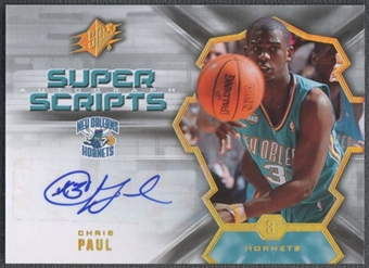 2007/08 SPx #CP Chris Paul Super Scripts Auto