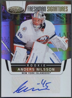 2011/12 Certified #227 Anders Nilsson Mirror Gold Rookie Auto #02/25