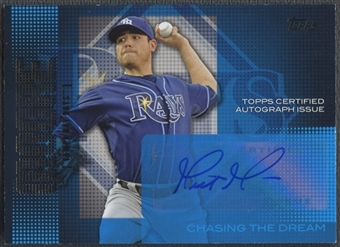 2013 Topps #MAM Matt Moore Chasing The Dream Auto