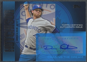 2013 Topps #DH Drew Hutchison Chasing The Dream Auto