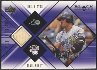 2000 Black Diamond #JC Jose Canseco A Piece of History Bat