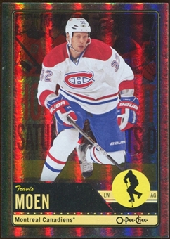 2012/13 Upper Deck O-Pee-Chee Rainbow #185 Travis Moen