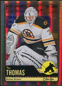2012/13 Upper Deck O-Pee-Chee Rainbow #186 Tim Thomas