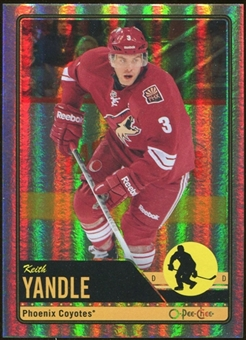2012/13 Upper Deck O-Pee-Chee Rainbow #351 Keith Yandle