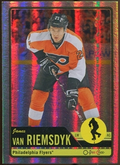 2012/13 Upper Deck O-Pee-Chee Rainbow #437 James van Riemsdyk