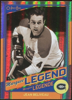 2012/13 Upper Deck O-Pee-Chee Rainbow #525 Jean Beliveau