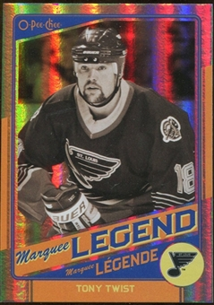 2012/13 Upper Deck O-Pee-Chee Rainbow #544 Tony Twist