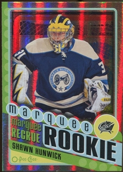 2012/13 Upper Deck O-Pee-Chee Rainbow #566 Shawn Hunwick
