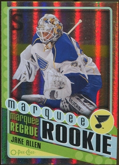 2012/13 Upper Deck O-Pee-Chee Rainbow #590 Jake Allen