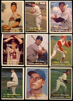 1957 Topps Baseball Starter Set (148 Cards) VG
