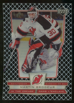 2007/08 McDonald's Upper Deck In the Crease #ICMB Martin Brodeur