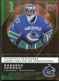 2008/09 McDonald's Upper Deck Superstar Spotlight #IS9 Roberto Luongo