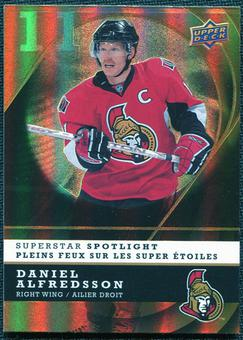 2008/09 McDonald's Upper Deck Superstar Spotlight #IS11 Daniel Alfredsson