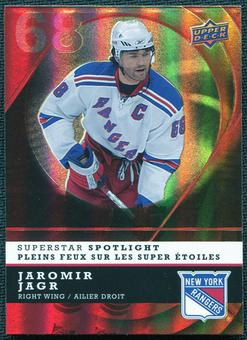 2008/09 McDonald's Upper Deck Superstar Spotlight #IS12 Jaromir Jagr