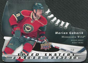 2008/09 McDonald's Upper Deck Speed Skaters #SS6 Marian Gaborik
