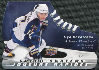 2008/09 McDonald's Upper Deck Speed Skaters #SS8 Ilya Kovalchuk
