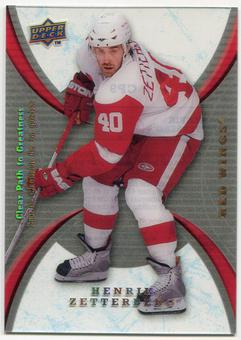 2008/09 McDonald's Upper Deck Clear Path to Greatness #CP9 Henrik Zetterberg