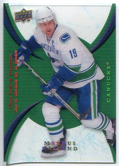 2008/09 McDonald's Upper Deck Clear Path to Greatness #CP10 Markus Naslund