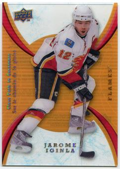 2008/09 McDonald's Upper Deck Clear Path to Greatness #CP12 Jarome Iginla