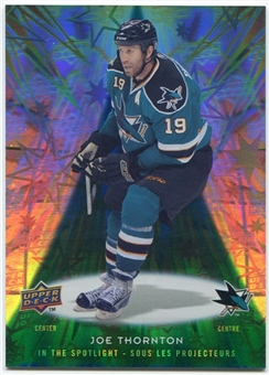 2009/10 McDonald's Upper Deck In the Spotlight #IS3 Joe Thornton