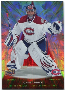 2009/10 McDonald's Upper Deck In the Spotlight #IS6 Carey Price