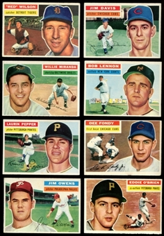 1956 Topps Baseball Starter Set (31 Cards) VG