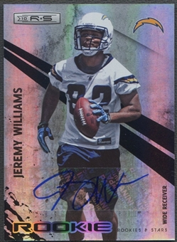 2010 Rookies and Stars #204 Jeremy Williams Holofoil Rookie Auto #162/299