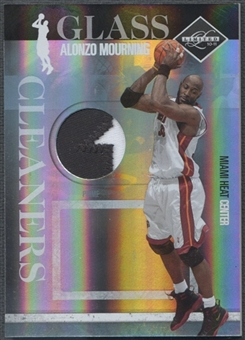 2010/11 Limited #15 Alonzo Mourning Glass Cleaners Materials Prime Patch #21/25