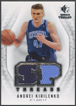 2008/09 SP Rookie Threads #TAK Andrei Kirilenko SP Threads Jersey
