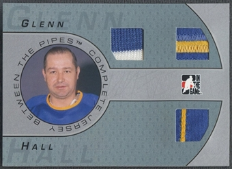 2006/07 Between The Pipes #CJ02 Glenn Hall Complete Jersey