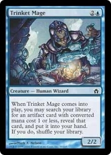 Magic the Gathering Fifth Dawn Single Trinket Mage Foil