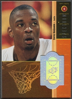 1998/99 SPx Finite #238 Corey Benjamin Rookie Spectrum #11/25