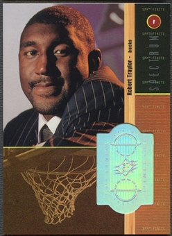 1998/99 SPx Finite #216 Robert Traylor Rookie Spectrum #12/25