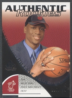 2003/04 SP Game Used #111 Dwyane Wade Rookie #225/999