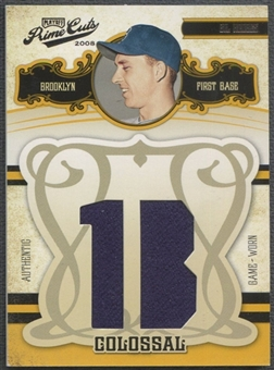 2008 Prime Cuts #21 Gil Hodges Colossal Jersey Position Jersey #43/50