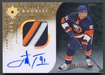 2009/10 Ultimate Collection #139 John Tavares Rookie Patch Auto #06/25