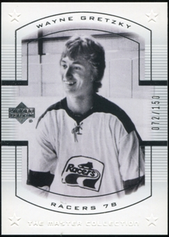 2000 Upper Deck Wayne Gretzky Master Collection US #1 Wayne Gretzky 72/150