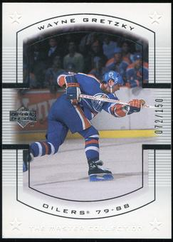 2000 Upper Deck Wayne Gretzky Master Collection US #5 Wayne Gretzky 72/150