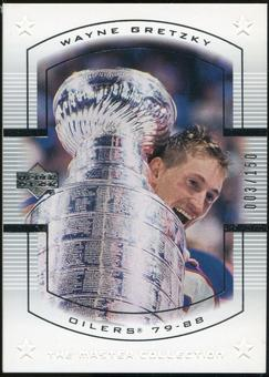 2000 Upper Deck Wayne Gretzky Master Collection US #6 Wayne Gretzky 3/150