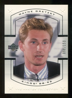2000 Upper Deck Wayne Gretzky Master Collection US #8 Wayne Gretzky /150