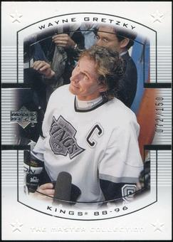2000 Upper Deck Wayne Gretzky Master Collection US #9 Wayne Gretzky 72/150