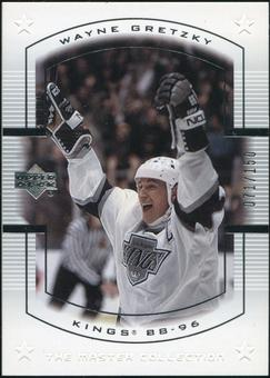 2000 Upper Deck Wayne Gretzky Master Collection US #11 Wayne Gretzky 71/150