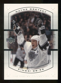 2000 Upper Deck Wayne Gretzky Master Collection US #11 Wayne Gretzky /150