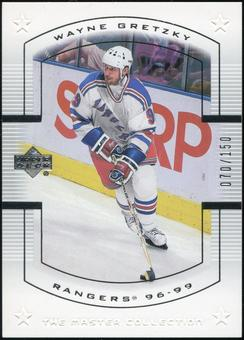 2000 Upper Deck Wayne Gretzky Master Collection US #14 Wayne Gretzky 70/150