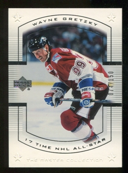 2000 Upper Deck Wayne Gretzky Master Collection US #15 Wayne Gretzky 72/150