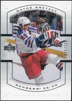 2000 Upper Deck Wayne Gretzky Master Collection US #16 Wayne Gretzky 71/150