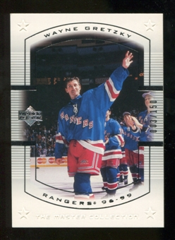 2000 Upper Deck Wayne Gretzky Master Collection US #17 Wayne Gretzky /150